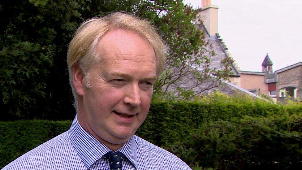 Consultant psychiatrist Iain McClure