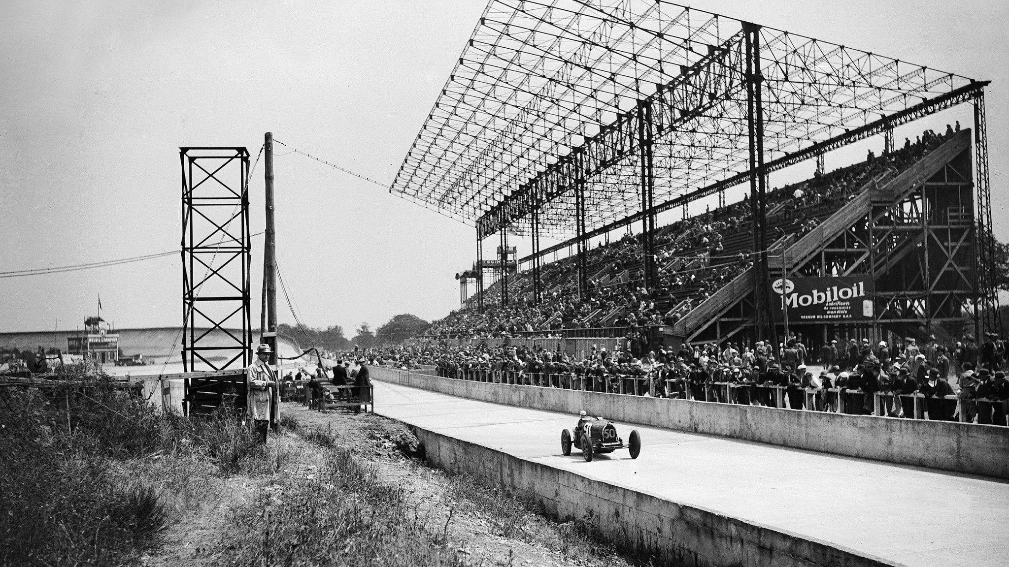 Circuito de Montlhery en 1931