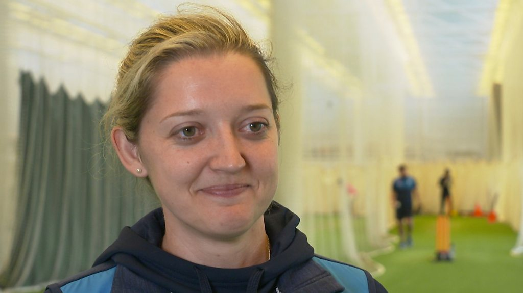 England cricketer Sarah Taylor qualifies as life coach