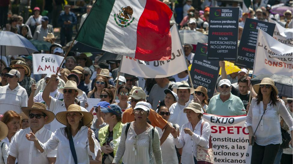 Protesta Ciudad de México