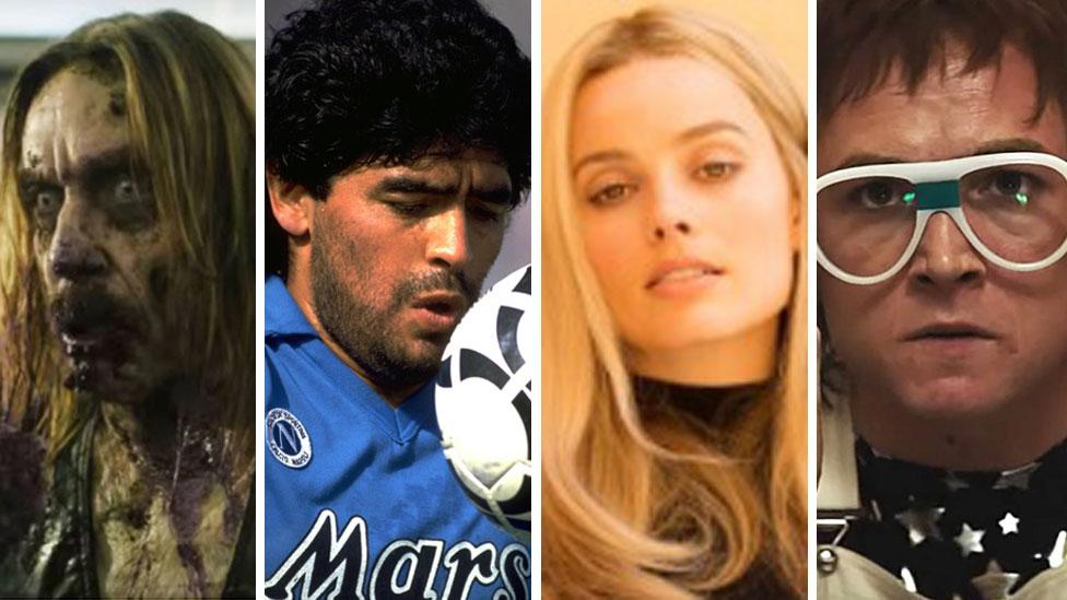 Iggy Pop, Diego Maradona, Margot Robbie and Elton John