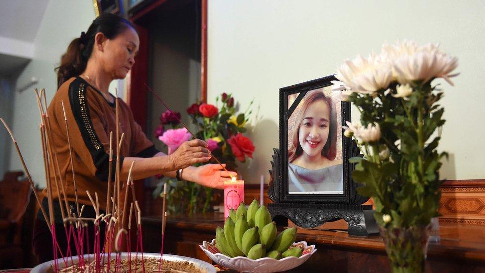 Familia de Bui Thi Nhung.