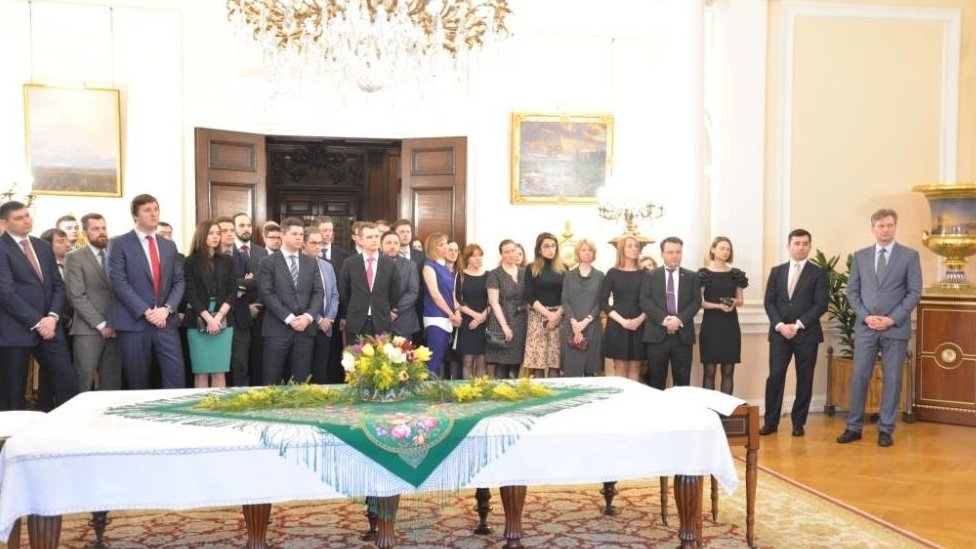 Reception at the Russian Embassy in the UK