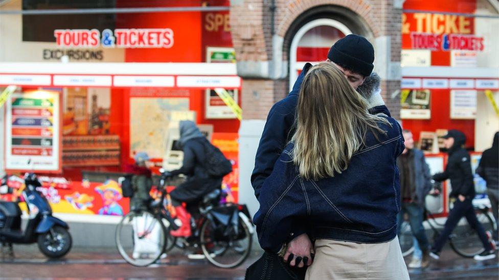 阿姆斯特丹情侶