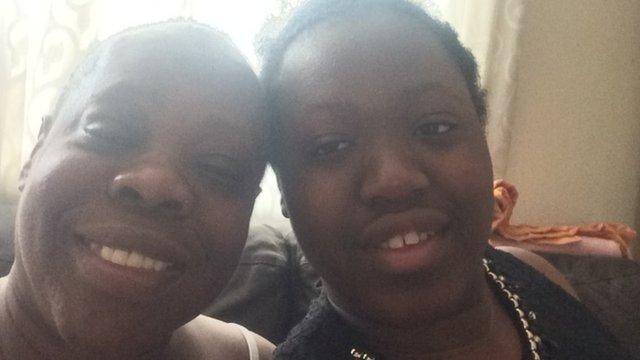 Shantavia and her mum
