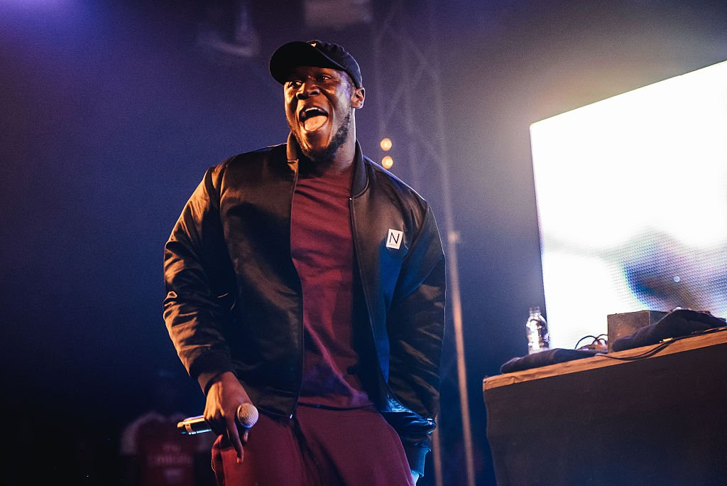 Stormzy at the Reading festival