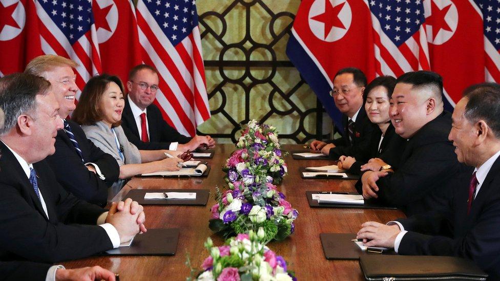 samit Trampa i Kima
