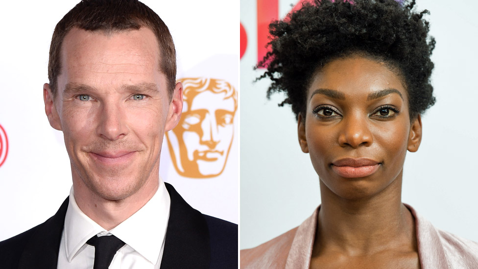 Benedict Cumberbatch and Michaela Coel are among those to have donated