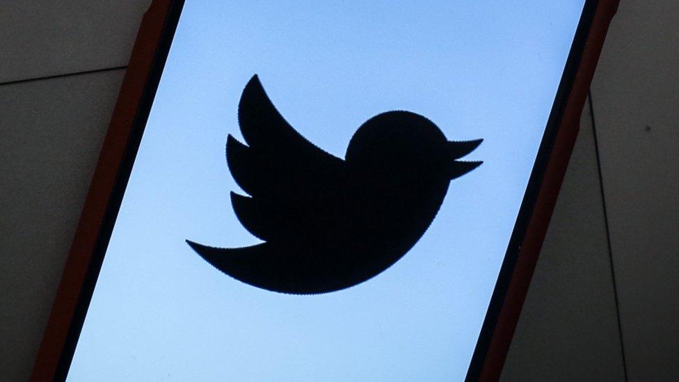 Logo kompanije Tviter