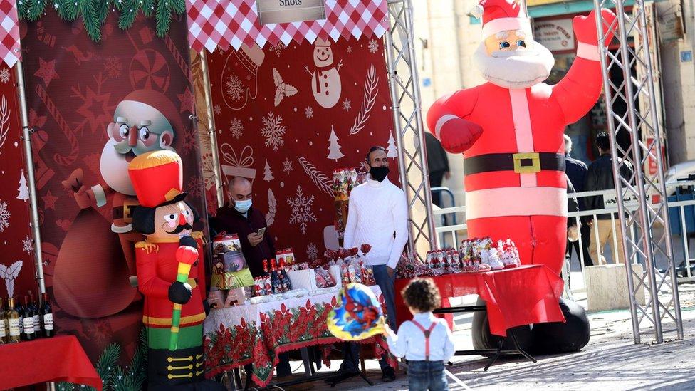 Coronavirus mutes Christmas celebrations in Bethlehem thumbnail