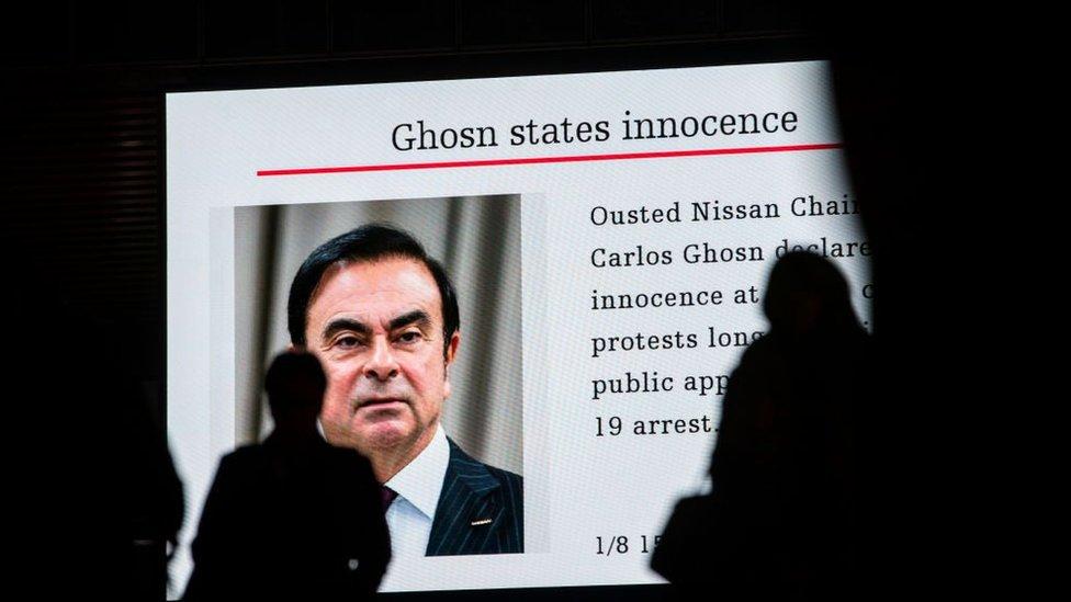 Carlos Ghosn suçsuz olduğunu söylüyor