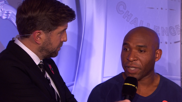 Mark Chapman and Barry Hayles