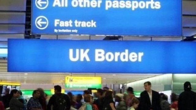 英國移民控制