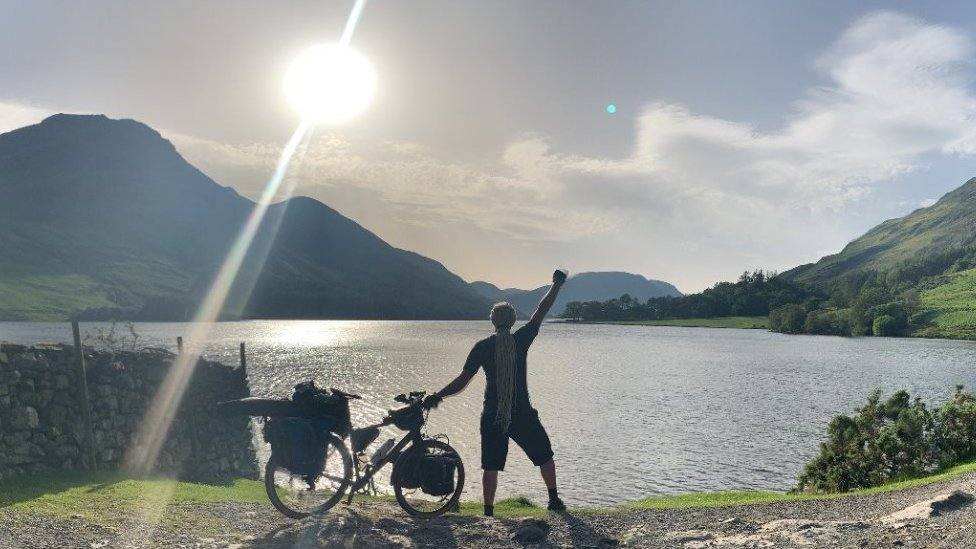 Paul at Buttermere