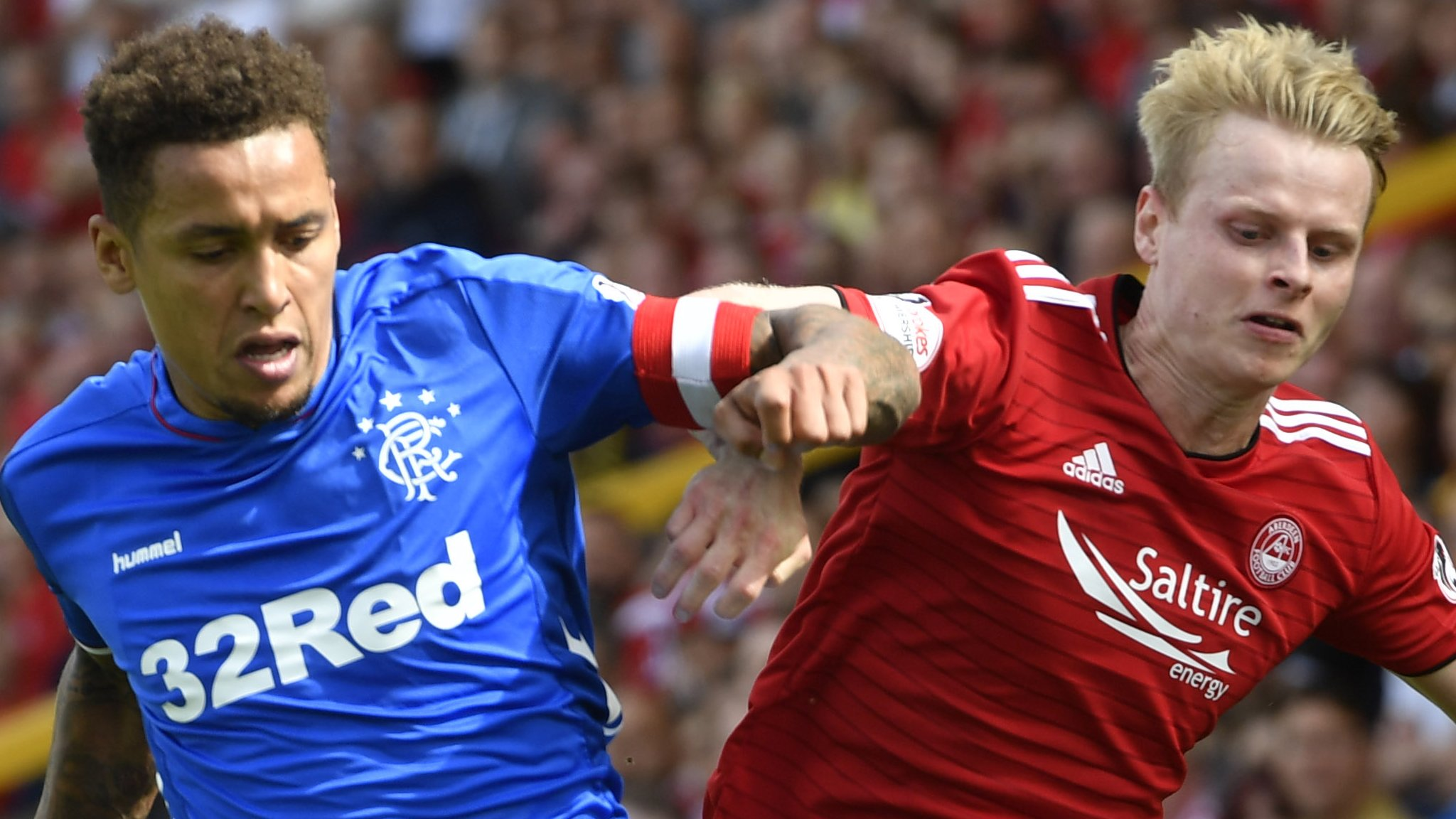 Rangers 'streets ahead' of Aberdeen - Charlie Adam stands by view after draw