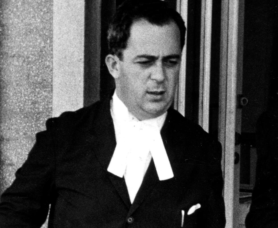 George Bizos in 1966