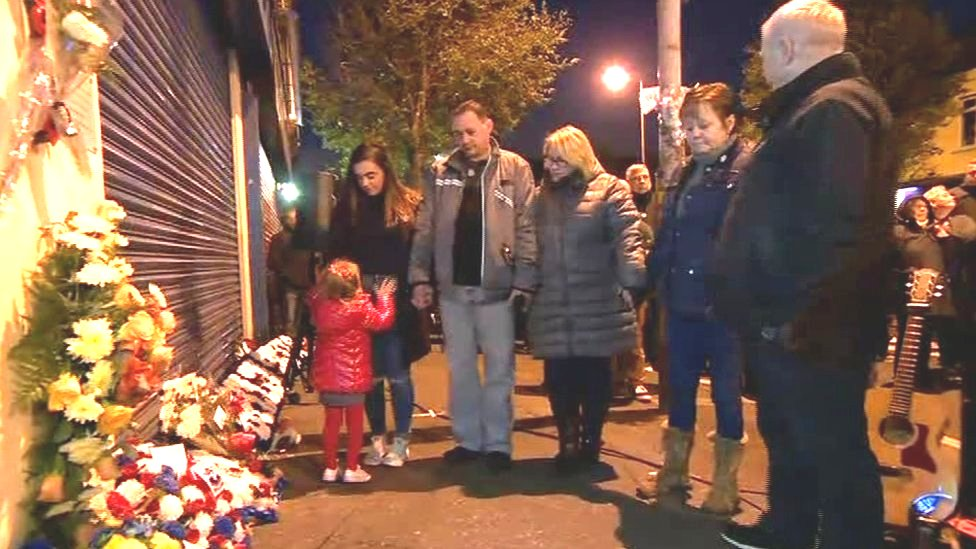 Shankill bombing: Remembrance walk on eve of anniversary