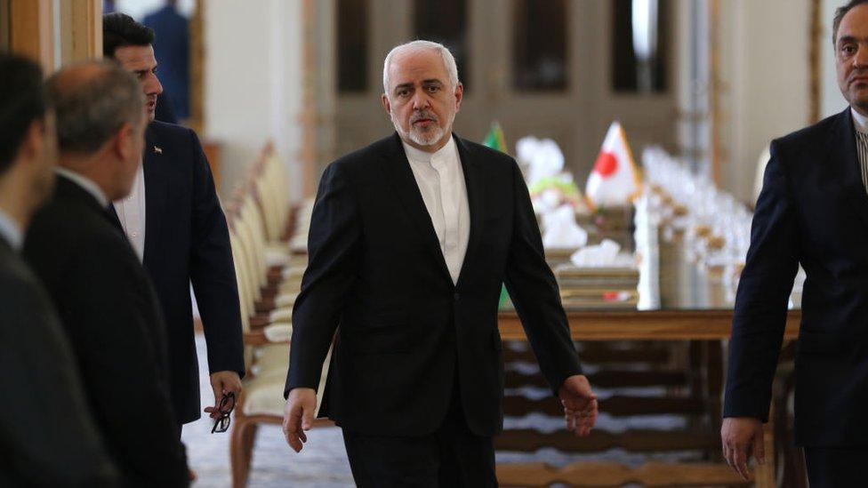 Se prevé que el ministro de Exteriores de Irán, Javad Zarif, será objeto de sanciones.