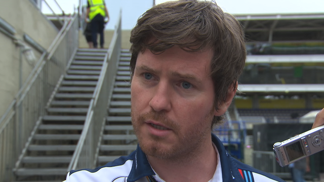 Williams head of performance Rob Smedley
