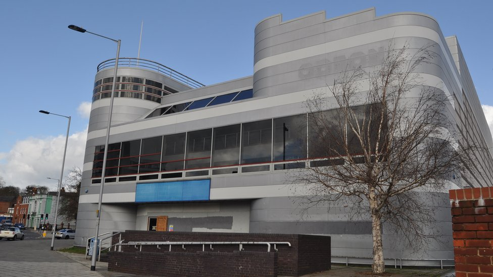 Inside town's abandoned cinema