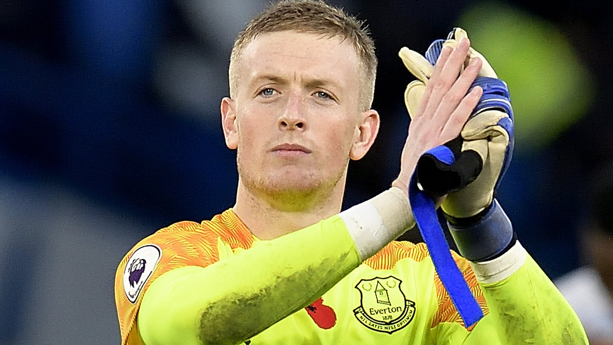 Be a buddy not a bully, says England keeper Pickford