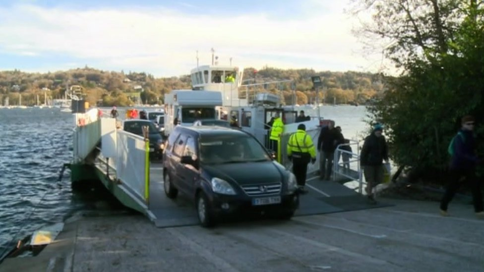 Windermere ferry fire aftermath cost council £420k