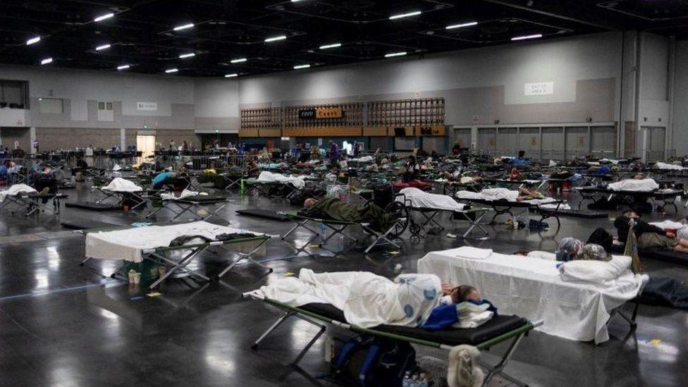 Oregon eyaletinde açılan bir 'serin yatakhane'