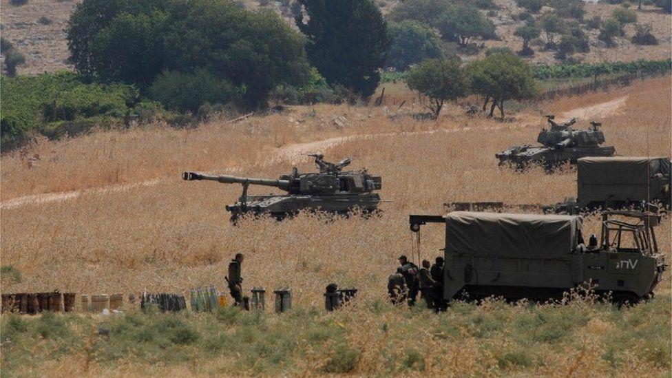 إسرائيل حذرت من حدوث أي هجوم محملة لبنان وحزب الله المسؤولية.