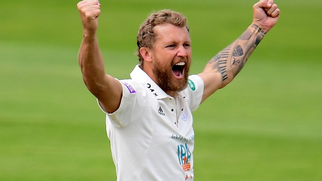 County Championship: Wickets tumble between Yorkshire and Hampshire