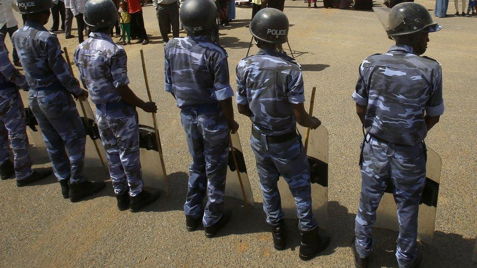 الشرطة في السودان