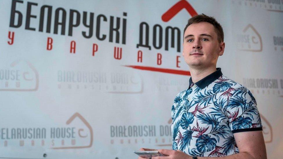 Stepan Putilo en Varsovia en agosto pasado.