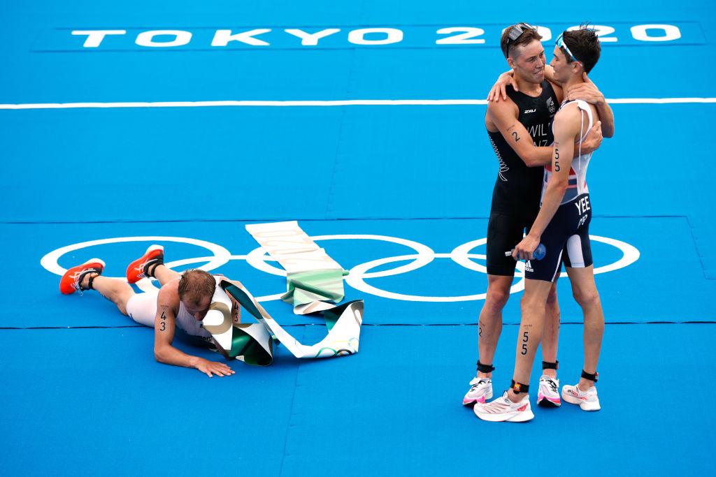 Atletas de Triatlón