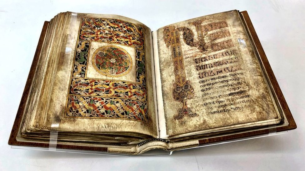 Book of Durrows loaned to British Library for exhibition