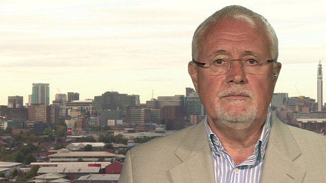 Former chairman of the BBC Trust, Sir Michael Lyons