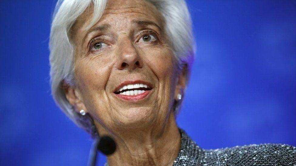 كريستين لاغارد، المدير العام لصندوق النقد الدولي