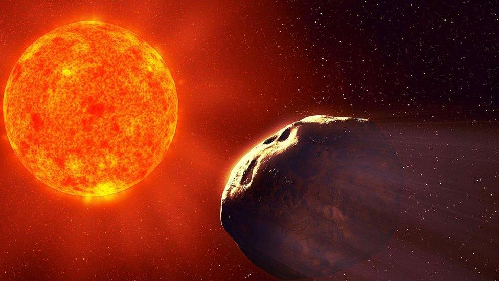 Planetary Resources está explorando la minería de asteroides.