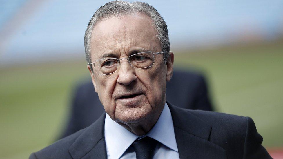 رئيس نادي ريال مدريد، فلورنتينو بيريز