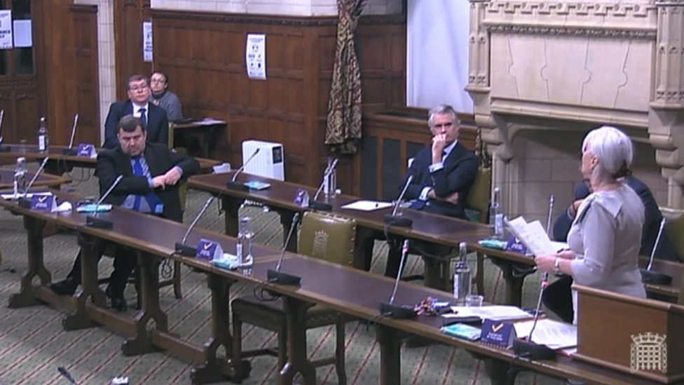Nadine Dorries making the announcement during a Westminster Hall debate