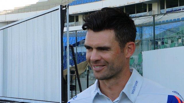 England-Pakistan series: James Anderson on return from injury