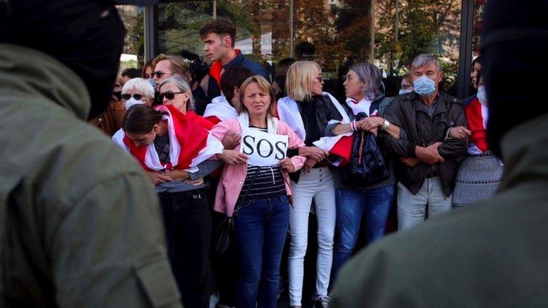 Беларусь: массовые задержания на