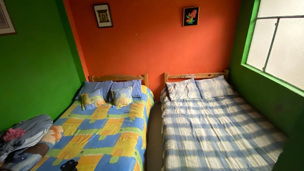 El cuarto de la familia Martínez-Henao.
