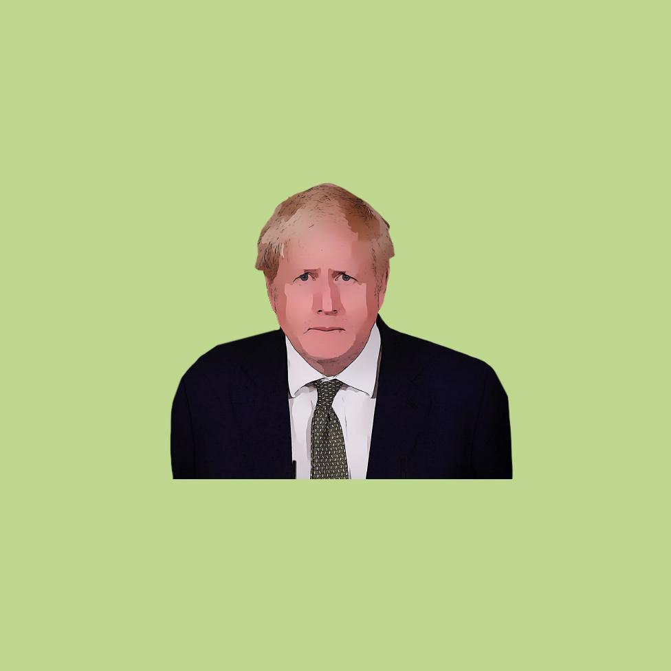 Boris Johnson illustration