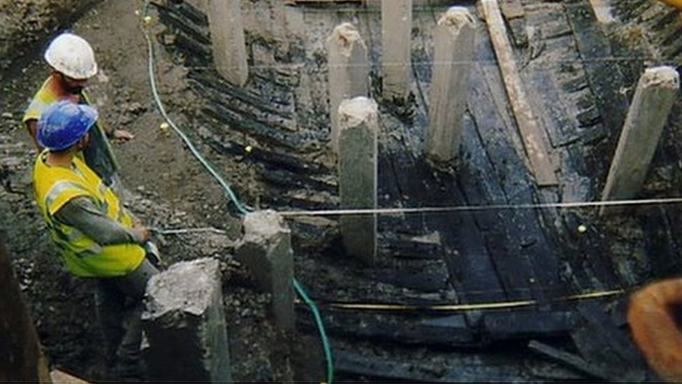 Newport ship discovered in 2002