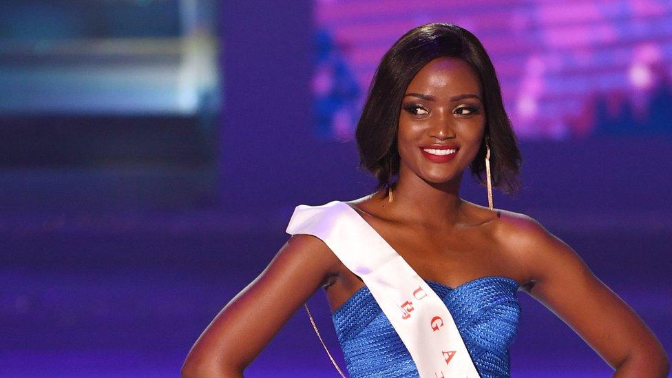 ملكة جمال أفريقيا الأوغندية كوين أبيناكيو