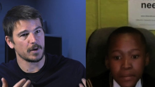Josh Hartnett and Mokotedi