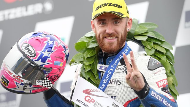 Lee Johnston was a treble winner at the Ulster Grand Prix in August