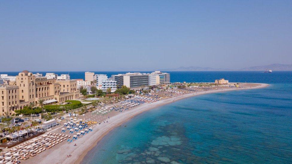 Playa de Rodas, Grecia