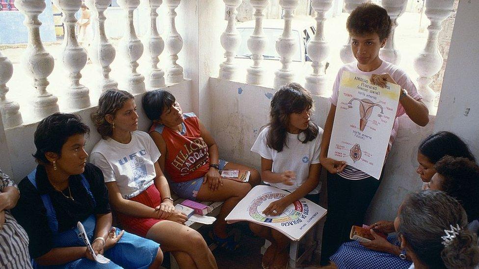 Educación sexual en Brasil