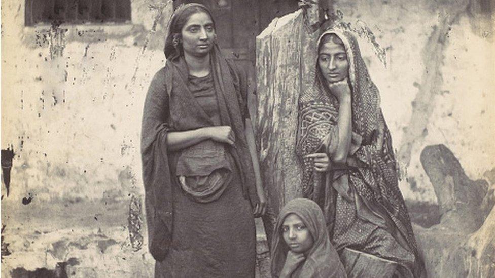 Indian women, 1870
