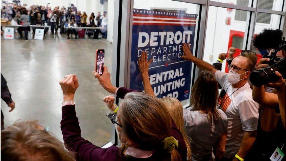 Protestas en Detroit